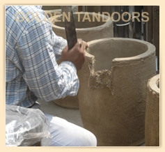 Sizing Tandoor Pots before fixing