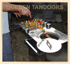 Putting Skewers in a Home Tandoor