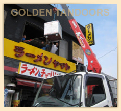 Golden Tandoor being Delivered to a high floor by crane