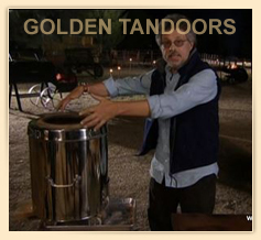 Steven Raichlen using HOME TANDOOR on BARBEQUE BIBLE SHOW