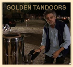 Steven Raichlen explaining about HOME TANDOOR on BARBEQUE BIBLE SHOW