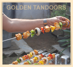 Getting Skewer ready for the tandoor